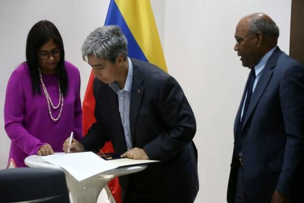 Delcy Rodríguez, Colegios Privados
