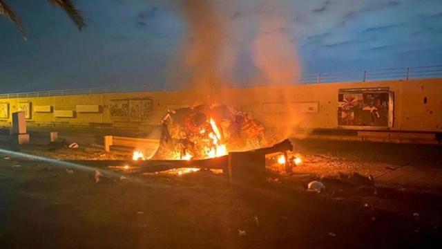 Irán ataca bases de EEUU en Irak