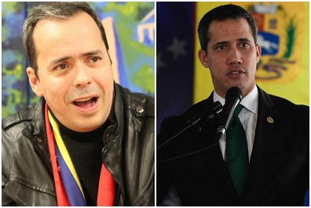 JJ Rendón y Juan Guaidó