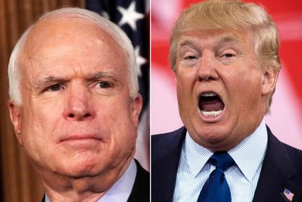 Última petición del senador: Familia del fallecido John McCain no quiere que Trump asista al entierro John-m10