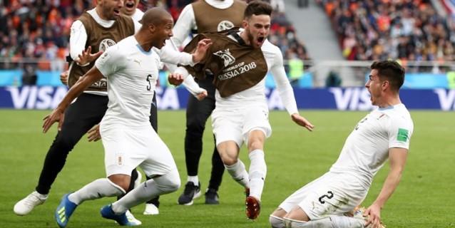 La eficacia de Francia termina con el sueño de Uruguay en Rusia 2018 Josc3a11