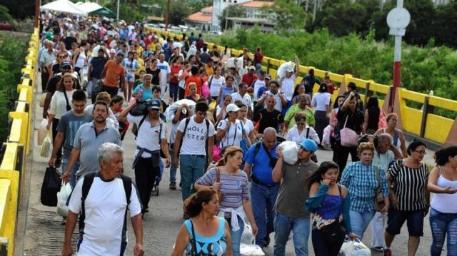 Puente fronterizo Venezeula-Colombia