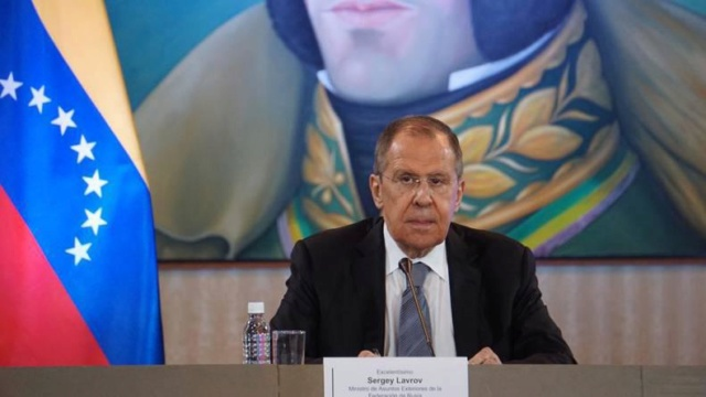 Serguei Lavrov en Venezuela