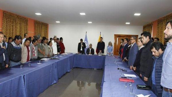 Gobierno de Ecuador suspende el decreto 883 ante presión popular