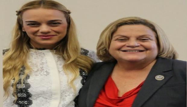 Lilian Tintori y Ileana Ros