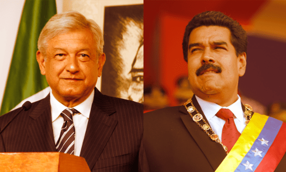 López Obrador, Nicolás Maduro