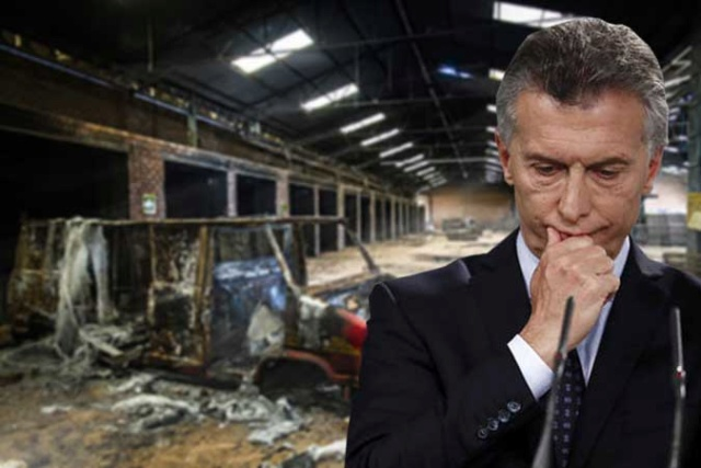 Macri destruye económica de Argentina