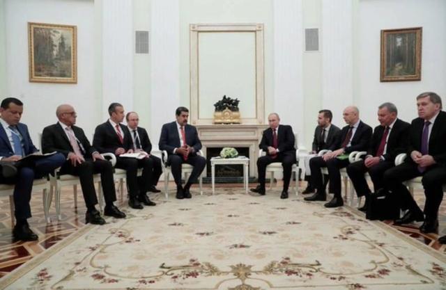 Presidente Maduro y Vladimir Putin en Rusia
