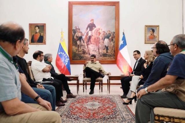 Maduro agradece apoyo al Foro de Sao Paulo