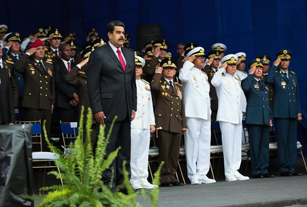 Maduro denunció pretensiones de EEUU para generar conflicto entre Venezuela y Colombia Maduro16
