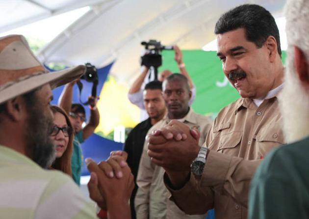 Presidente Maduro llama a los campesinos a denunciar a los corruptos en las instituciones Maduro25