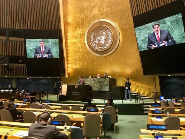 Nicolás Maduro en la ONU 2018