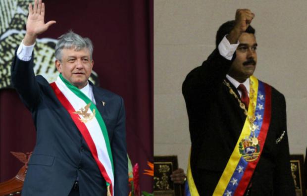 México confirma invitación y asistencia del Presidente Maduro a toma de posesión de López Obrador Maduro48