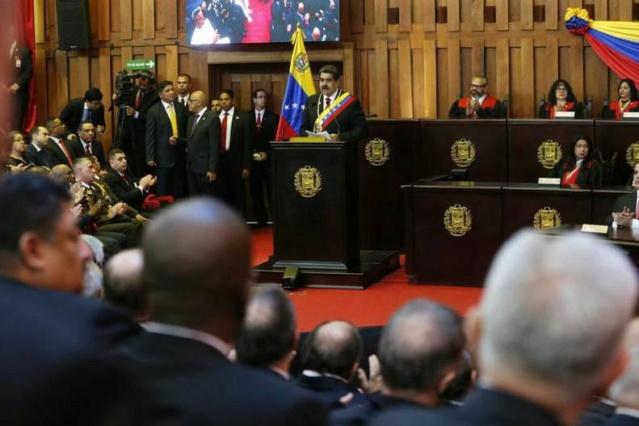 Presidente Nicolás Maduro toma de posesión 10 de enero de 2019