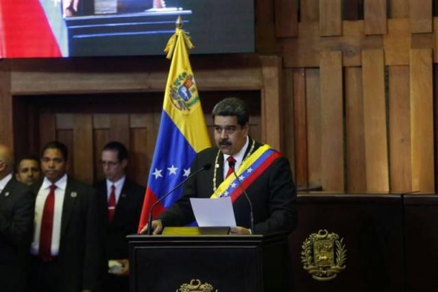 Toma de posesión de Maduro