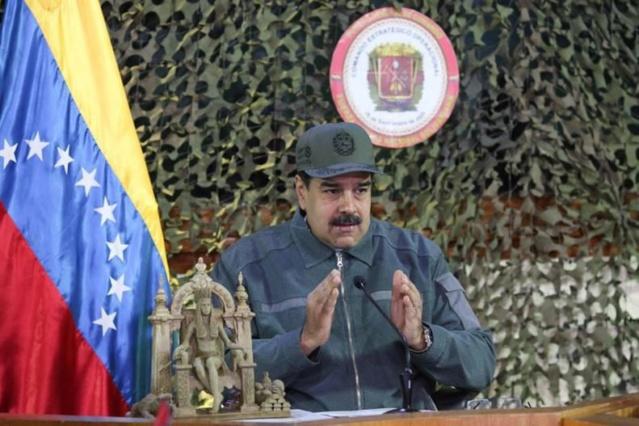 Comandante en Jefe Nicolás Maduro