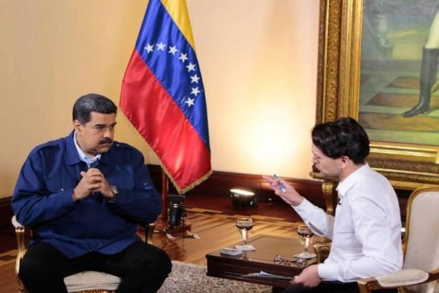 Nicolás Maduro, entrevista, RT