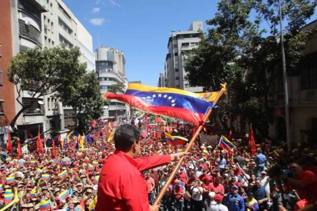 Presidente Maduro: 30 días después el golpe de Estado ha fracasado Maduro79