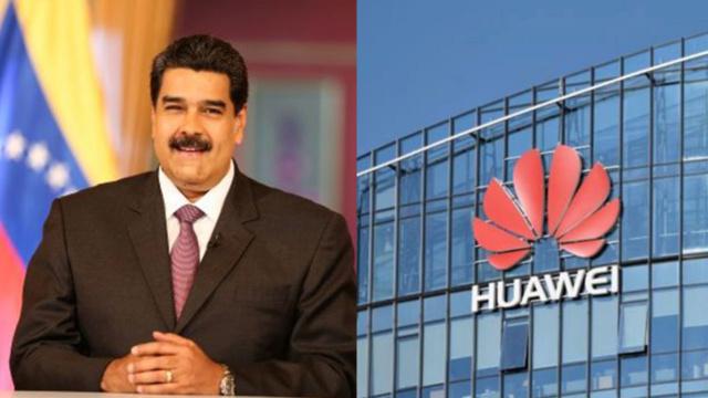 Nicolás Maduro, Huawei, Venezuela