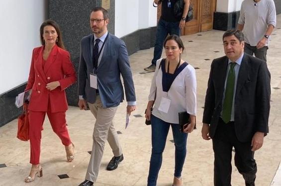 Diputados españoles de la derecha llegan a Venezuela