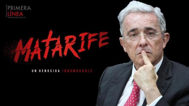 Narcotráficante Álvaro Uribe Vélez