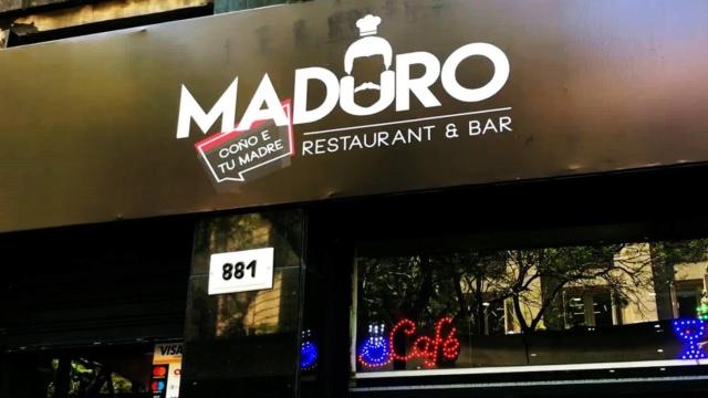Restaurant «Maduro coño e' tu madre»