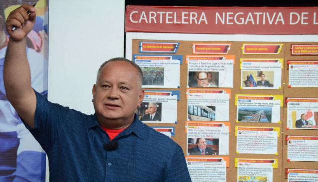 Diosdado Cabello, El Mazo Dando