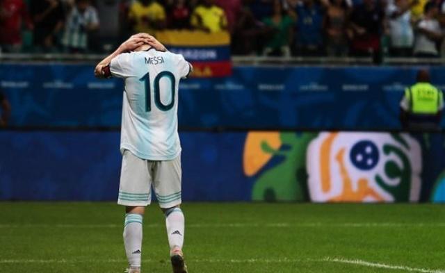 Argentina pierde ante Colombia