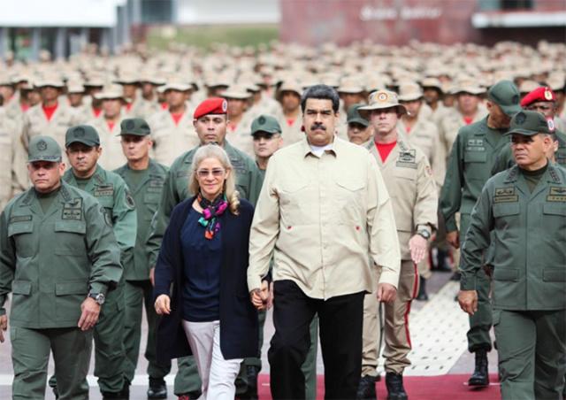 Presidente Maduro y la Milicia