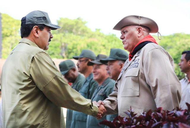 Nicolás Maduro y Carlos Leal Tellería