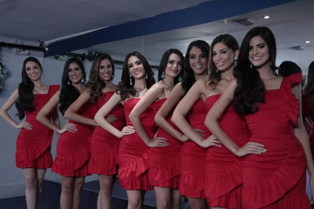 El Miss Venezuela presentó oficialmente las candidatas 2018 Missve10
