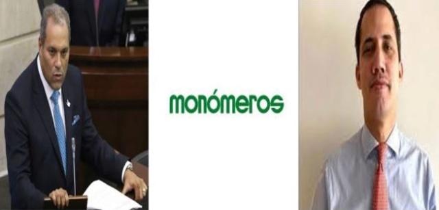 José David Name, Monómeros, Guaidó