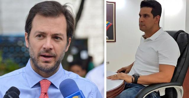 Ramón Muchacho y Jonathan Marín