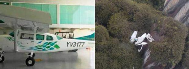 Encuentran siniestrada la avioneta reportada como desaparecida en Canaima: los seis tripulantes fallecieron Muere-10