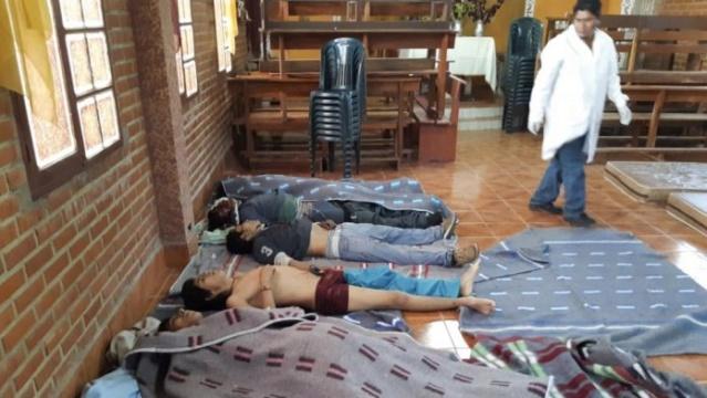 Manifestantes asesinados por la dictadura de Añez y Camacho en Bolivia