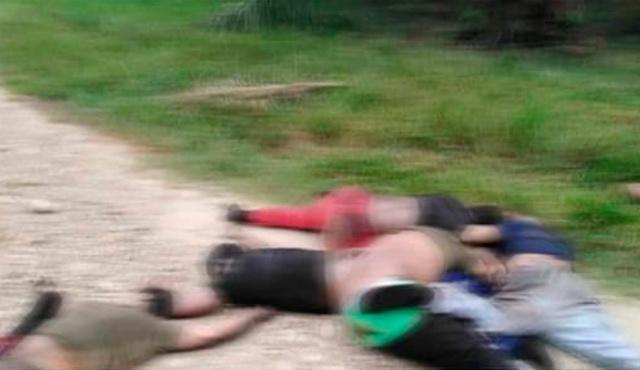Asesinato de cinco personas en el departamento de Arauca