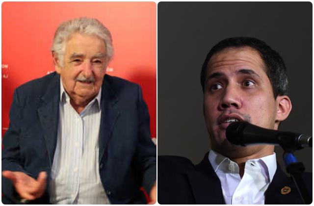 Pepe Mujica, Juan Guaidó