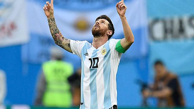 """Messi, tras el triunfo sobre Nigeria: """"No recuerdo haber sufrido tanto en un partido"""" N_153010"""