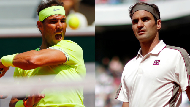 Rafa Nadal y Federer