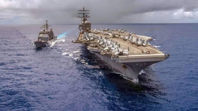 Barcos militares de EEUU