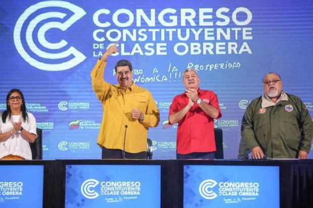 Nicolás Maduro, clase obrera