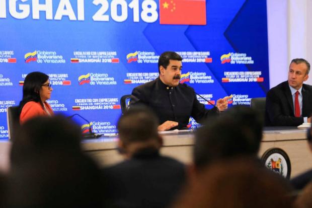 Maduro: Repudiamos las intrigas de Mike Pompeo contra relaciones entre China, AL y el Caribe Nicola11