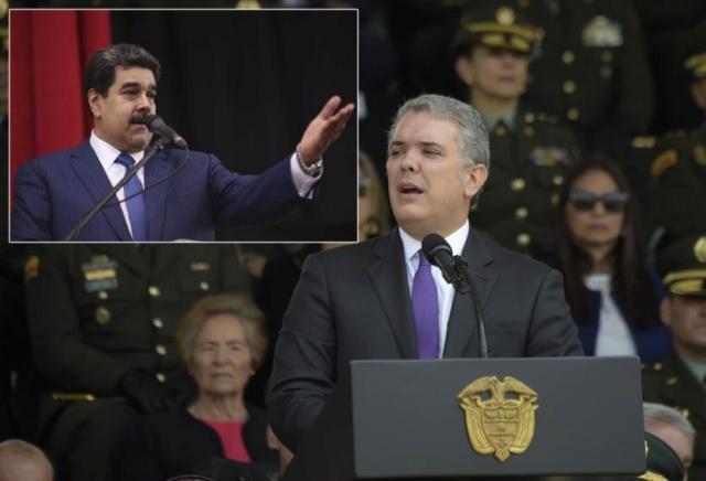Nicolás Maduro, Iván Duque