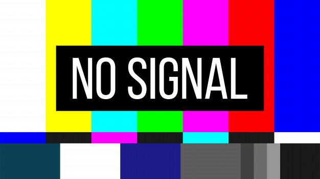 No señal