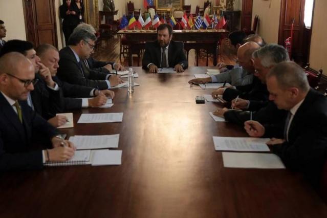 Venezuela entregó nota de protesta a representantes diplomáticos de países de la UE Nota_p10