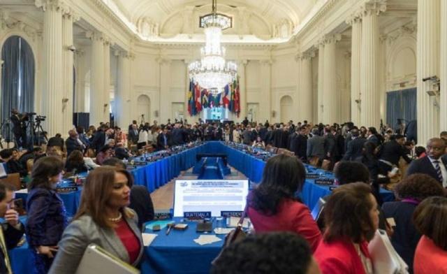 EEUU no logró los votos en la OEA para reconocer a Guaidó Oea-110