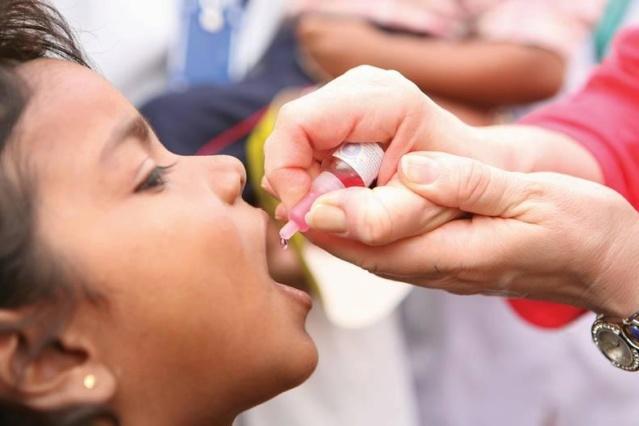 Jornada de vacunación contra la polio