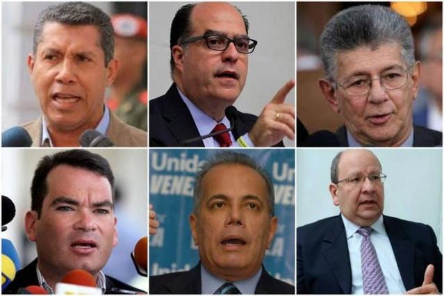 Tras fracasos y ausencias la dirigencia opositora venezolana trata de restablecer unidad Oposic12