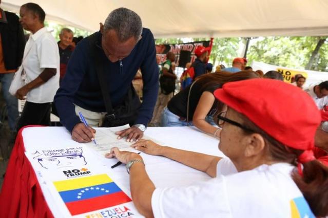 Campaña venezolana No More Trump