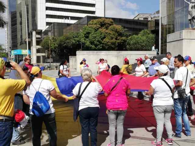 Fracasan en todo el país convocatorias de Guaidó a marchar: pocos asistieron Parque10